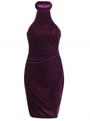 Velvet Club Bodycon Dress