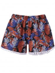 Printed Flowy Shorts - COLORMIX