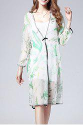 Cami Dress and Printed Blouse Twinset -