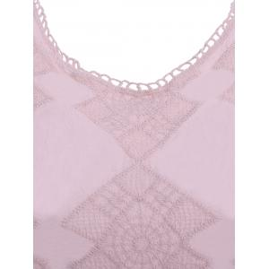 Guipure Laciness Hollow Out Top -