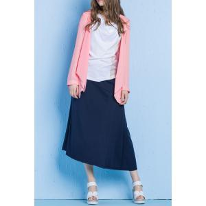 Asymmetrical Patched Skirt -