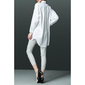 Patched Loose Shirt -