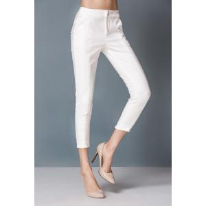 Sheath High Waist Capri Pants -