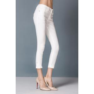 High Waist Capri Pants -