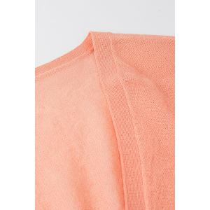 Pure Color Knitted Cardigan -
