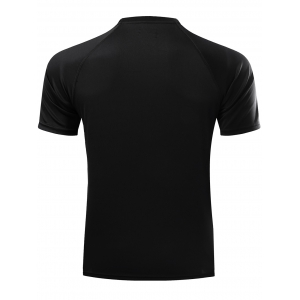 Casual Ombre Color Gym T-Shirt For Men - BLACK 2XL