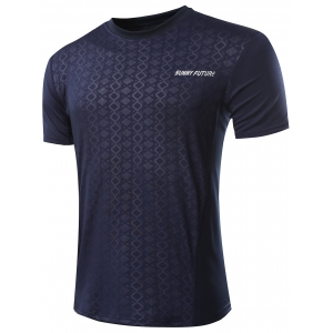 Casual Printed Gym T-Shirt For Men