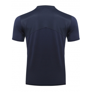 Casual Printed Gym T-Shirt For Men - CADETBLUE XL