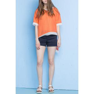 High Low Hem Loose Tee -
