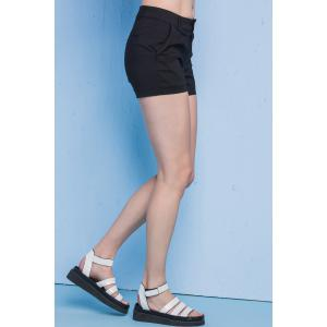 Slimming Solid Color Shorts -