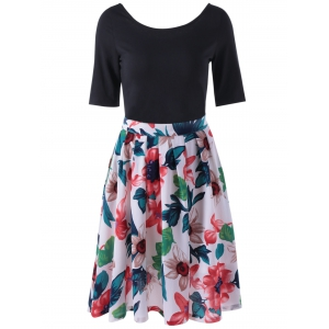 Fashionable Printed Pleating Skirts For Women -