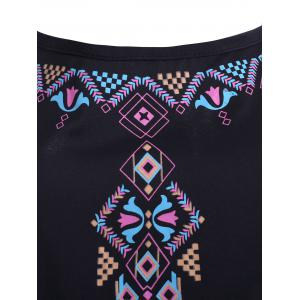 Tie Print Asymmetrical Cami Dress -