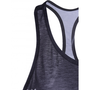 Fashionable Sleeveless U-Neck Racerback Tank Top For Women -