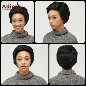 Adiors Layered Shaggy Straight Synthetic Wig