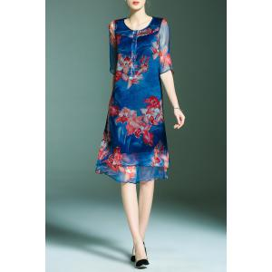 Floral Layered Dress -