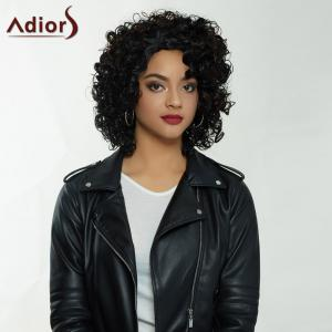Adiors Shaggy Curly Syntheic Medium Wig