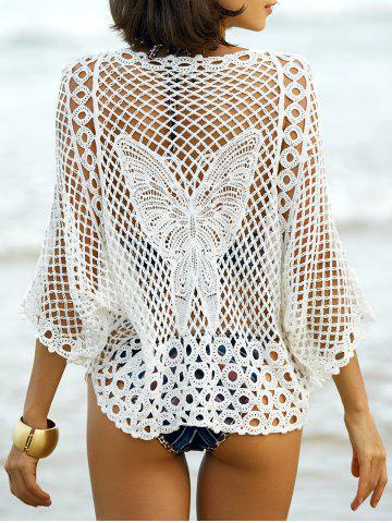 Cheap Hollow Out Butterfly Pattern Cover-Up