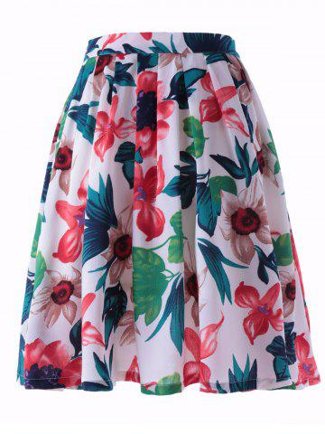 Buy Fashionable Printed Pleating Skirts For Women