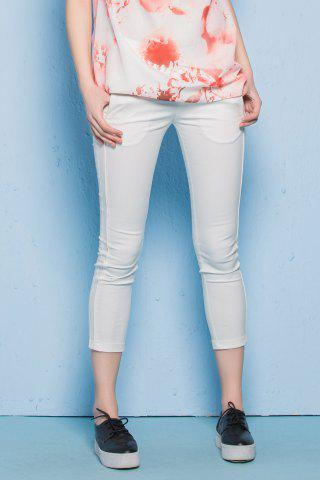 Store Twin Pocket Skinny Ninth Pants