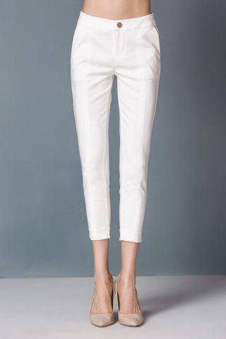Unique Sheath High Waist Capri Pants