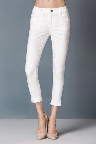 Chic High Waist Capri Pants
