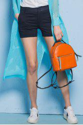 Slimming Pure Color Shorts -