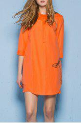 Camisole Dress and Button Front Dress Twinset -
