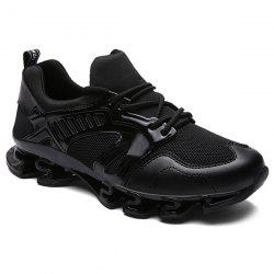 Stylish Splicing and Mesh Design Athletic Shoes For Men -