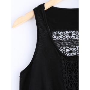 Stylish Lace Openwork Tank Top For Women -