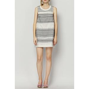 Mini Stripe Trapeze Dress -