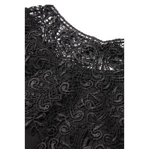 Satin Embroidered T Shirt -
