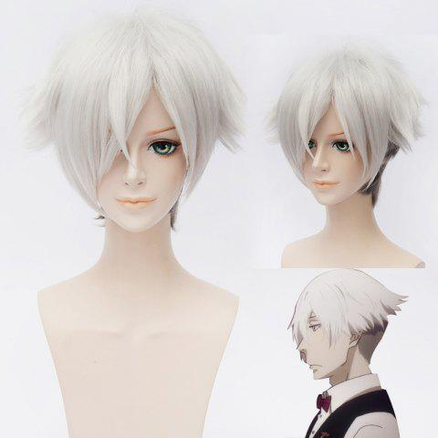 Fashion Chic Synthetic Death Billiards Cosplay Ombre Short Wig