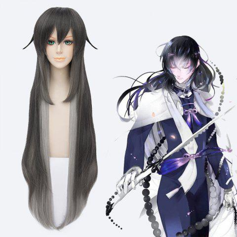 Store Fluffy Touken Ranbu Synthetic Straight Ombre Cosplay Wig