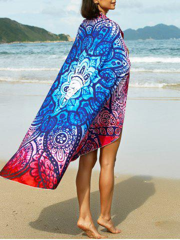 Shops Bohemian Tribal Print Round Sarong For Women