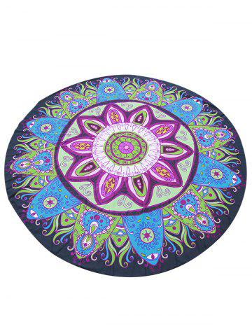 Latest Chiffon Tribal Mandala Cover Up Sarong COLORMIX ONE SIZE(FIT SIZE XS TO M)