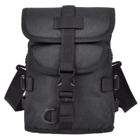 Casual Solid Color and  Design Backpack For Men
