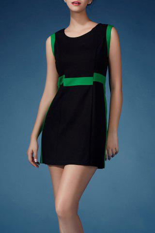 New Hit Color Mini Sheath Dress