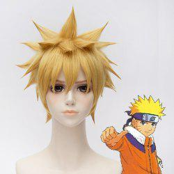 Chic Synthetic Full Bang Short Uzumaki Naruto Cosplay Wig