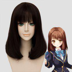 Fluffy Full Bang Kanna Hashimoto Lolita Cosplay Wig For Women