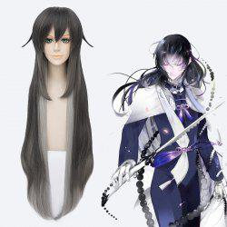 Fluffy Touken Ranbu Synthetic Straight Ombre Cosplay Wig -