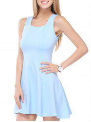 Flounced Summer Teen Dress