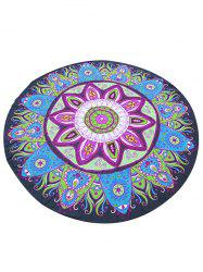 Chiffon Tribal Mandala Cover Up Sarong - COLORMIX