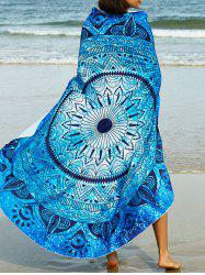 Abstract Tribal Print Sarong Beach Throw