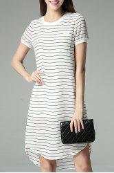 One Pocket High Low Dress -