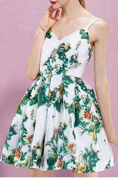Floral Backless Cami Dress -