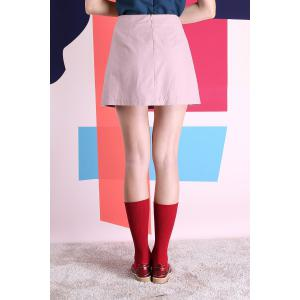 Chic A-Line Mini Skirt -