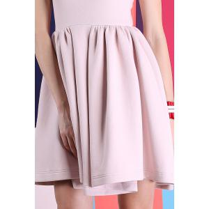 Sleeveless Bonded Skater Dress -