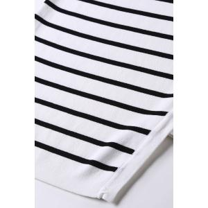 Striped Sheath Dress -