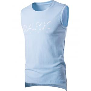 Round Neck Letter Printed Sleeveless T-Shirt For Men