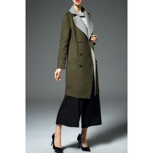 Double Breasted Twin Pocket Coat -